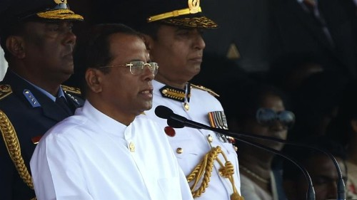 Sri Lankan president vows security shake-up over attacks