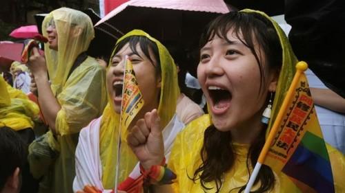Taiwan's parliament approves same-sex marriage legislation