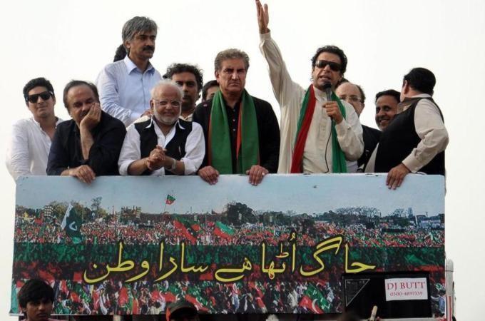 Pakistan protesters flood Islamabad