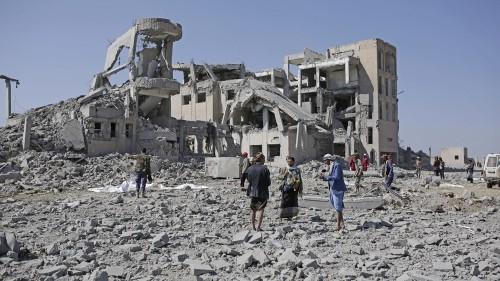 Dozens of civilians killed in Saudi-UAE-led air raids in Yemen