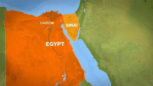 Egypt army says airstrikes kill Sinai rebels