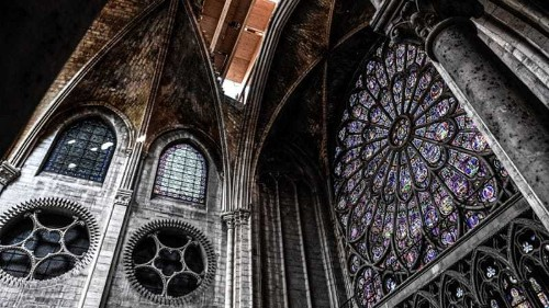 Inside Notre Dame: Rubble, emptiness and an immense task ahead