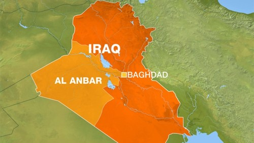 Thousands stranded in Iraq's front-line town