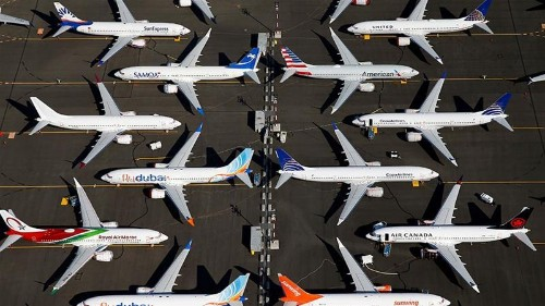 Boeing takes a $4.9bn hit over its grounded 737 MAX planes