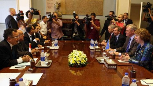 EU envoy meets Brotherhood leaders in Egypt