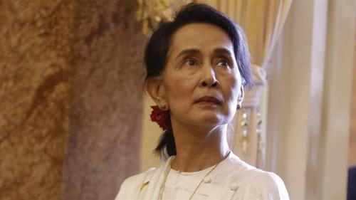 'Profoundly dismayed': Amnesty strips Suu Kyi of top honour