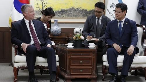 N Korea: No nuclear talks if US 'hostile military moves' continue