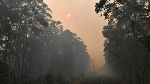 The heat builds as the fires burn in Australia