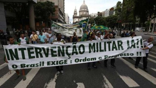 Brazilians clash on 50th anniversary of coup