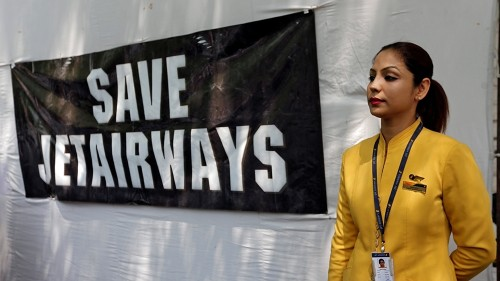 'Can't sleep at night': Despair over jobs as Jet Airways grounded