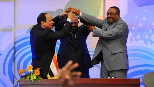 Egypt, Ethiopia and Sudan sign accord on Nile dam