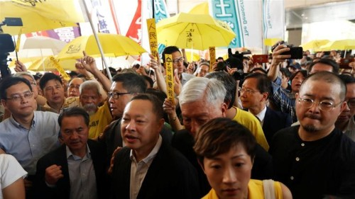Hong Kong's 'Occupy Central' activists handed prison terms