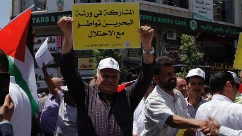 Palestinians denounce US's peace plan before Manama event