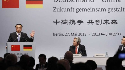 Germany supports China in trade dispute