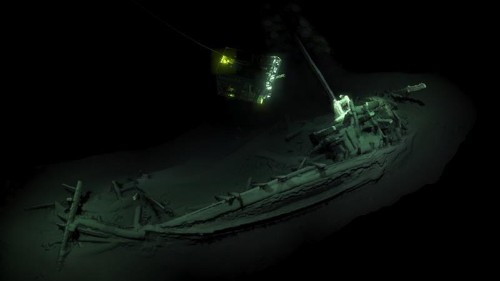 Oldest intact shipwreck known to mankind found in Black Sea
