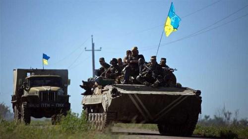 Soldiers killed in fighting in Ukraine's east