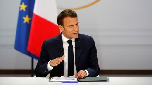 France's Emmanuel Macron offers tax cuts to workers
