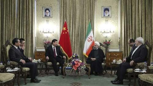 China's pivot to Persia