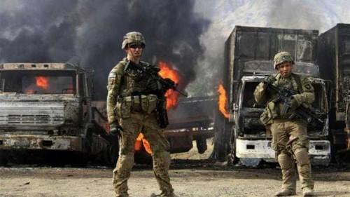 Afghan Taliban fighters strike NATO post