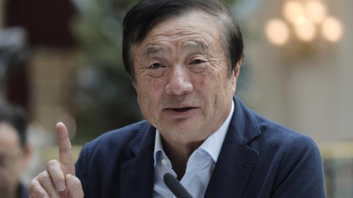 Huawei founder says US cannot 'crush' telecoms giant