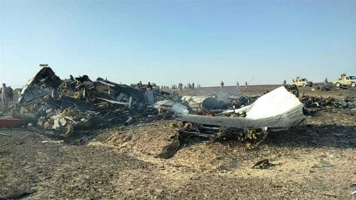 'Heat flash' recorded over Sinai at time of plane crash