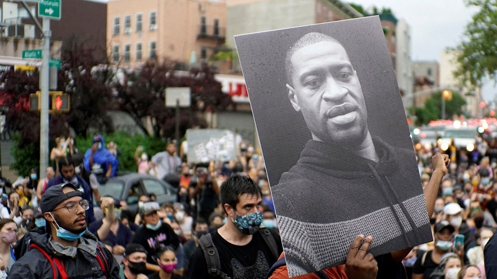 Minneapolis, California move to end police neck restraints: Live