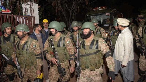 Deadly attack hits Shia mosque in Islamabad