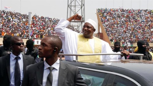 Three dead in protest against Gambian leader Adama Barrow