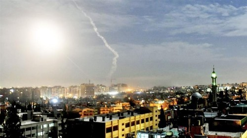 Israeli army says it hit Iranian targets in Syria