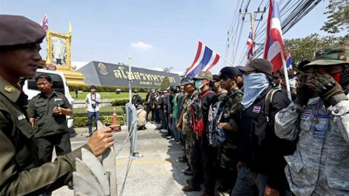 Thai army deploys 10,000 troops ahead of vote
