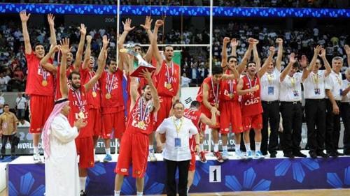 Iran win basketball gold