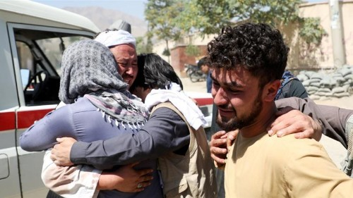 President Ghani vows to crush ISIL after Kabul wedding attack