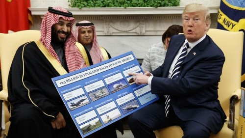 In another rebuke to Trump, Senate votes to block Saudi arms sale