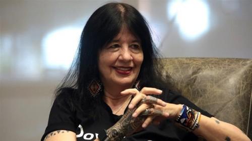 Joy Harjo becomes first Native American US poet laureate