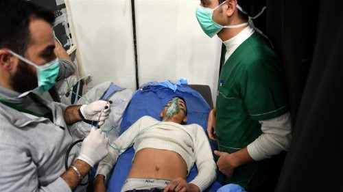 Syria: Opposition denies launching poison gas attack on Aleppo