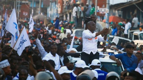 Fire destroys thousands of voting machines in DR Congo