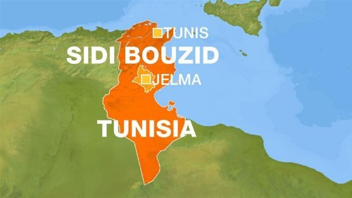 Eleven arrests as protesters clash with police in central Tunisia