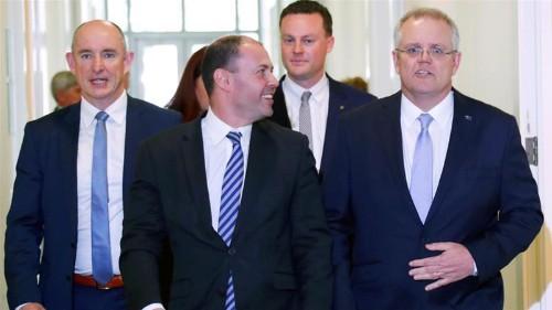 Australia ruling party chooses Scott Morrison as next PM