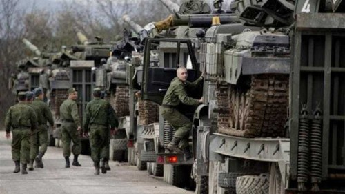 US urges Russia to leave Crimea border area