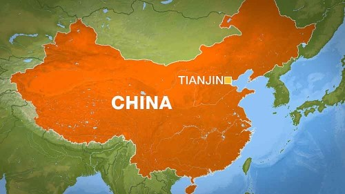 Devastating warehouse blasts hit China's Tianjin