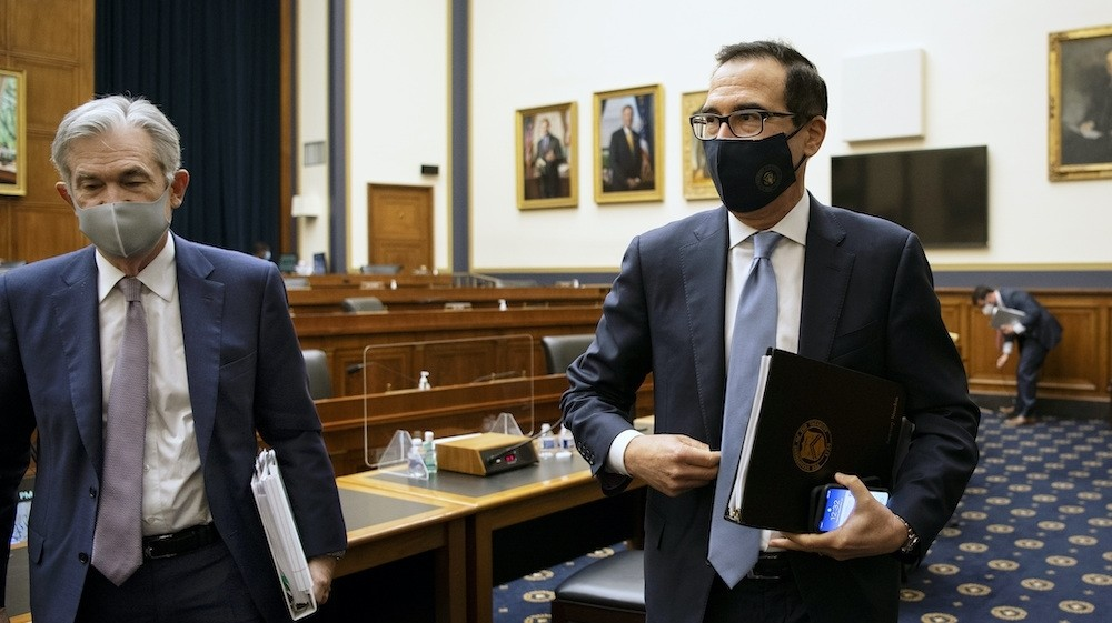 Fed, Treasury chiefs: US economy needs more Congress COVID-19 aid
