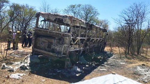 Report: More than 40 killed in Zimbabwe bus accident