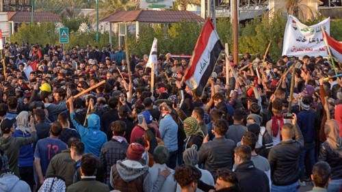 Several killed after al-Sadr followers storm protest camp in Iraq