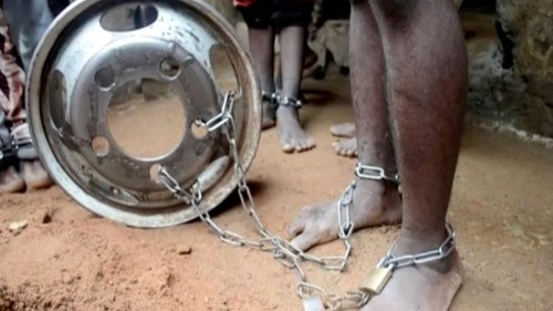 Nigeria urged to ban chaining people with mental health issues