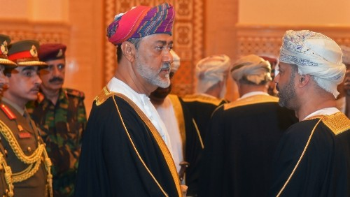 Haitham bin Tariq sworn in as Oman's new sultan