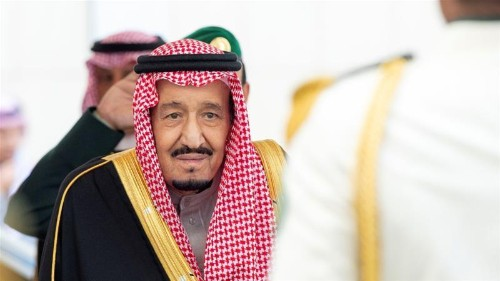 Saudi king blames Iran for 'chaos', calls for global response