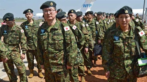 Japanese peacekeepers arrive in South Sudan