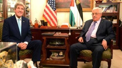 Kerry and Abbas discuss Jerusalem unrest