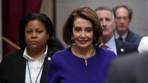 US House Speaker Pelosi says Trump is engaged in a 'cover up'