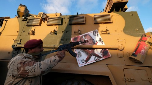 Turkey's Erdogan confirms sending Syrian fighters to Libya